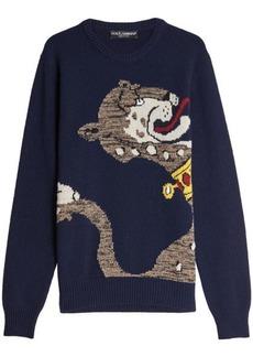Dolce & Gabbana Virgin Wool Pullover