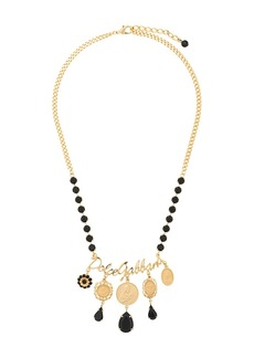 Dolce & Gabbana votive motif medallion necklace