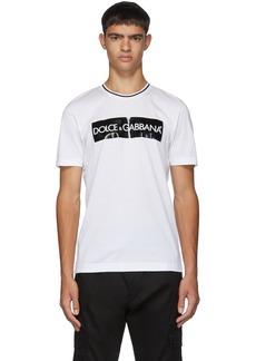 Dolce & Gabbana White Box Logo T-Shirt