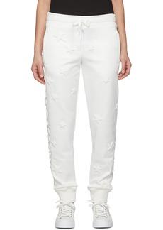 Dolce & Gabbana White Millennials Star Scuba Lounge Pants