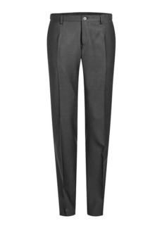 Dolce & Gabbana Wool Pants with Silk