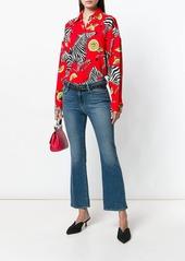 Dolce & Gabbana zebra & lemon print shirt
