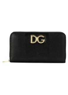 Dolce & Gabbana zip-around leather wallet