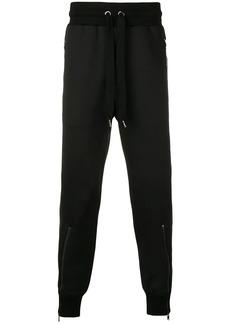 Dolce & Gabbana zip detail track pants