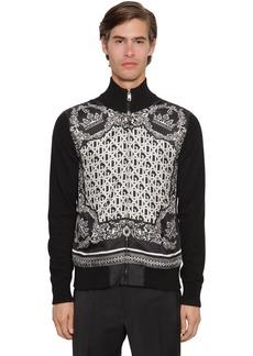 Dolce & Gabbana Zip-up Cashmere & Silk Cardigan
