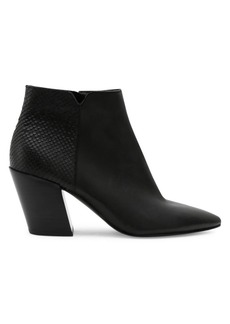 Dolce Vita Aden Leather Heeled Booties