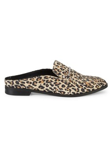 Dolce Vita Camrin Leopard-Print Suede Loafers