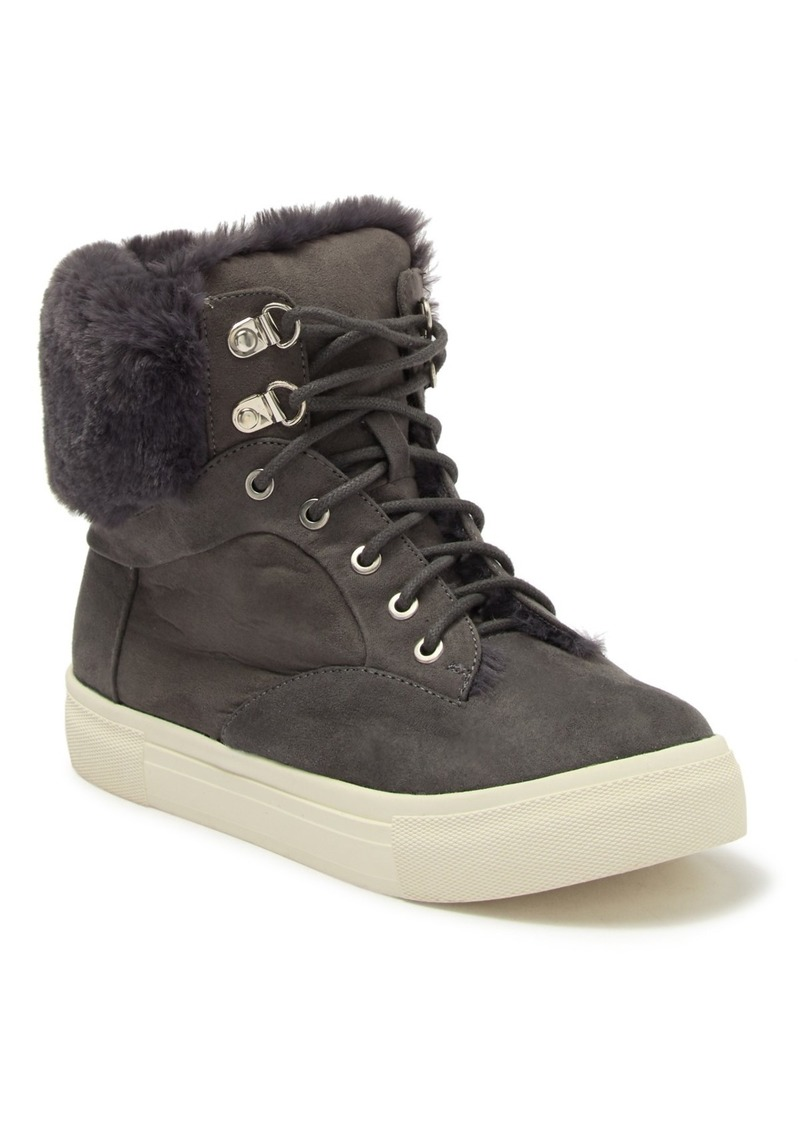 Dolce Vita Cath Faux Fur Sneaker (Little Kid & Big Kid)