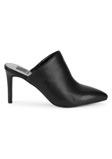 Dolce Vita Cinthia Leather High-Heel Mules