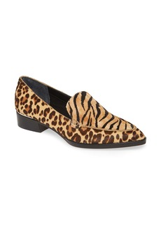 Dolce Vita Arlene Pointed Toe Genuine Calf Hair Loafer (Women)