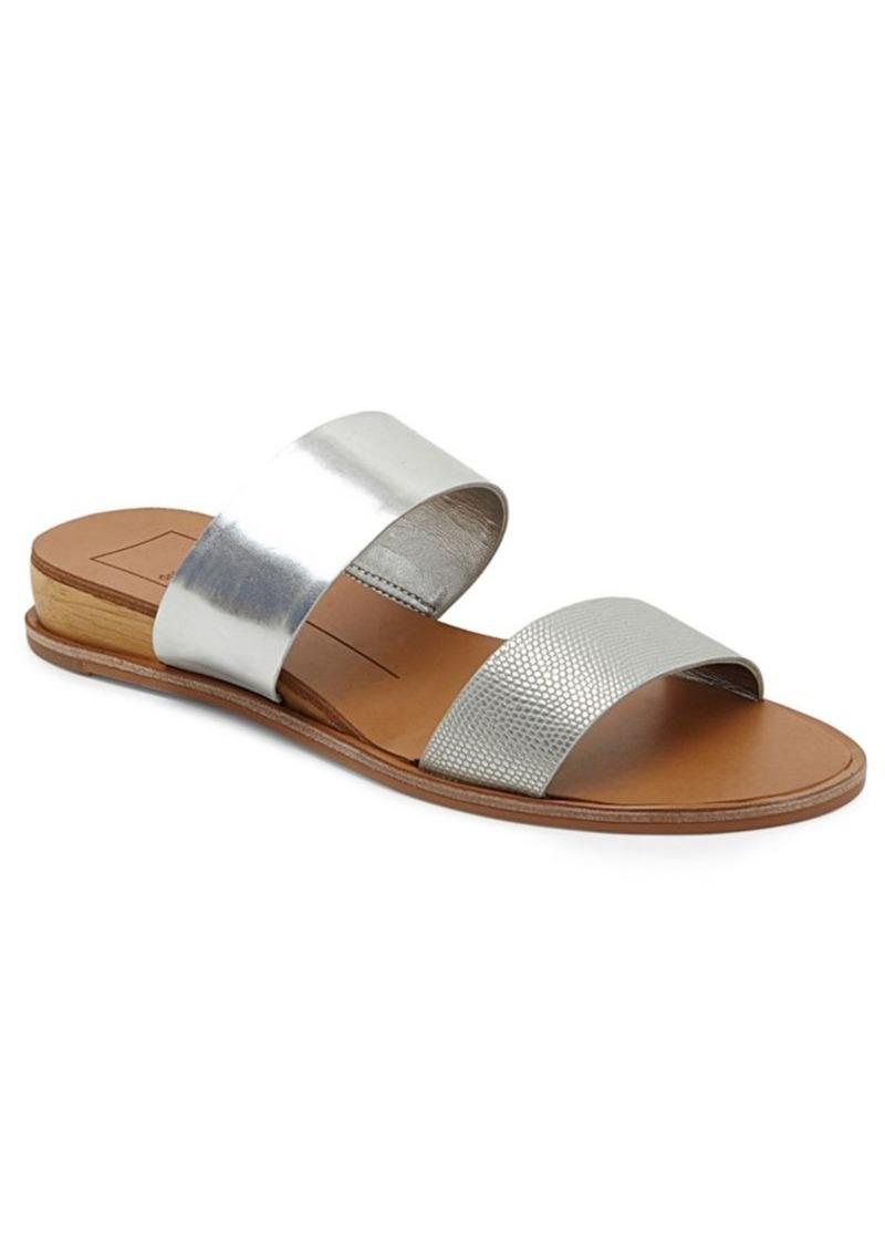 ade060b28306 SALE! Dolce Vita Dolce Vita ayce Metallic Slide Sandals