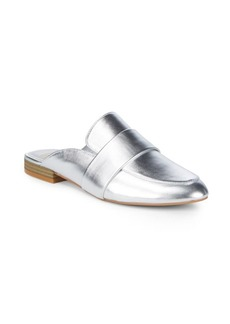 Dolce Vita Celene Metallic Leather Mules