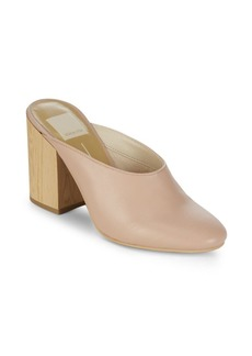 Dolce Vita Cicely Leather Mules