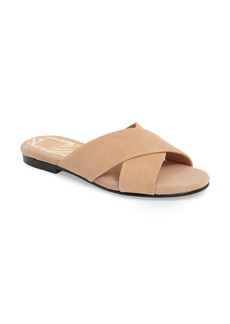 Dolce Vita Cross Strap Slide Sandal (Women)