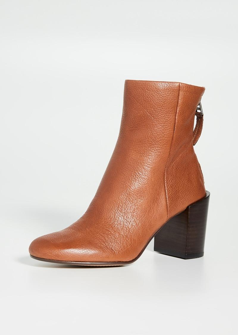 Dolce Vita Cyan Block Heel Booties