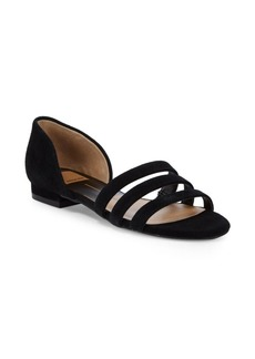 Dolce Vita Deidra Three-Strap Leather Sandals