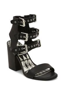Dolce Vita Edin Leather Block Heel Sandals
