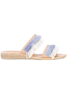 Dolce Vita fringe flat sandals - Blue