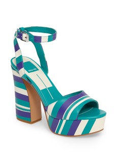 Dolce Vita Gavvin Stripe Platform Sandal (Women)
