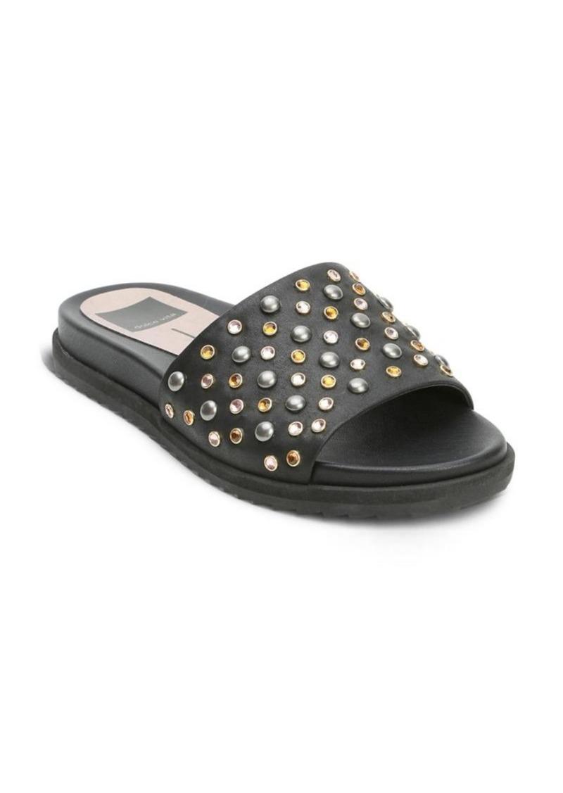 a562af3ac9d8 Dolce Vita Dolce Vita Gia Beaded Leather Slides