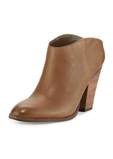 Dolce Vita Hailey Leather Block-Heel Bootie