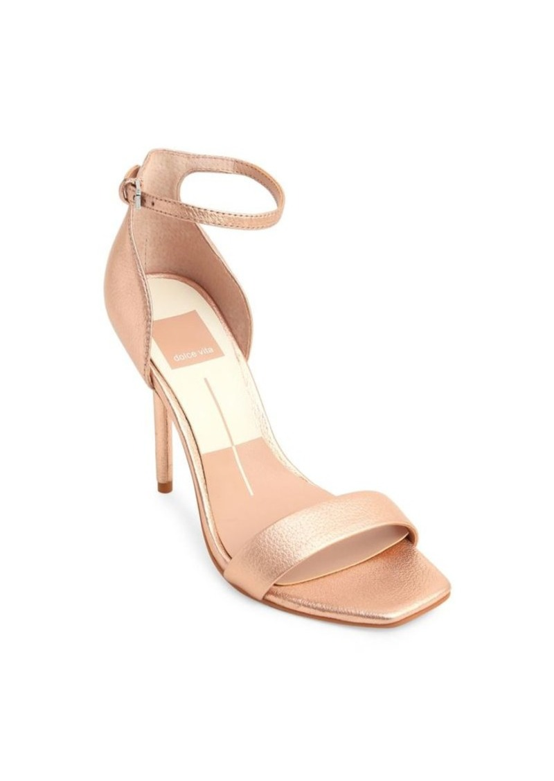 Dolce Vita Dolce Vita Halo Leather Ankle-Strap Sandals