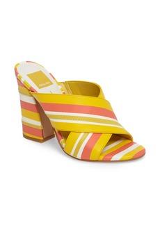 Dolce Vita Hanna Flared-Heel Slide Sandal (Women)