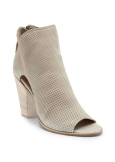 Dolce Vita Harem Open-Toe Perforated Ankle Boots