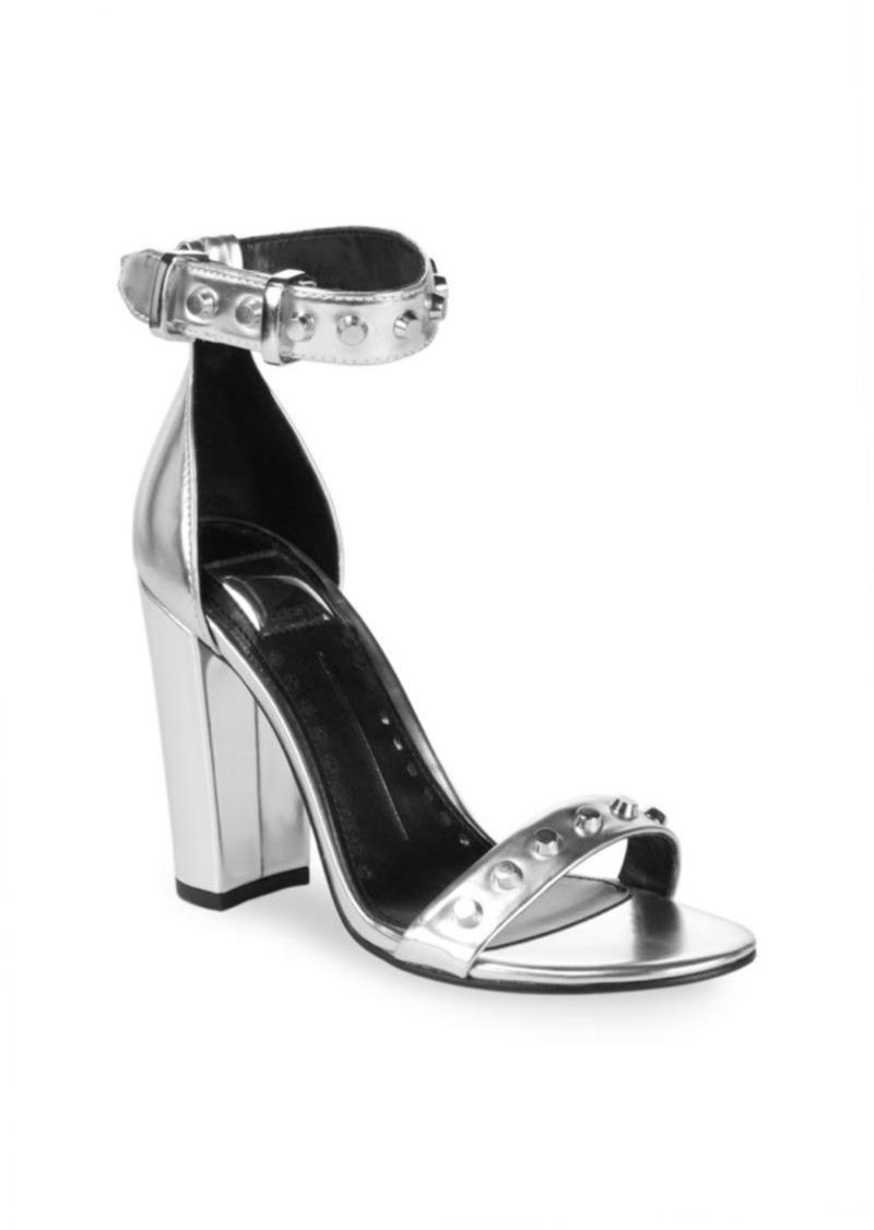 Dolce Vita Hazella Metallic Anke-Strap Heeled Sandals