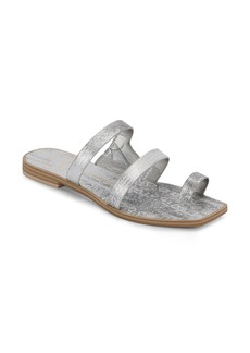 Dolce Vita Isala 3 Croc Textured Slide Sandal (Women)
