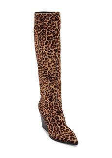 Dolce Vita Isobel Knee High Genuine Calf Hair Boot (Women)