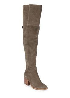 Dolce Vita Kerina Block Heel Suede Boots