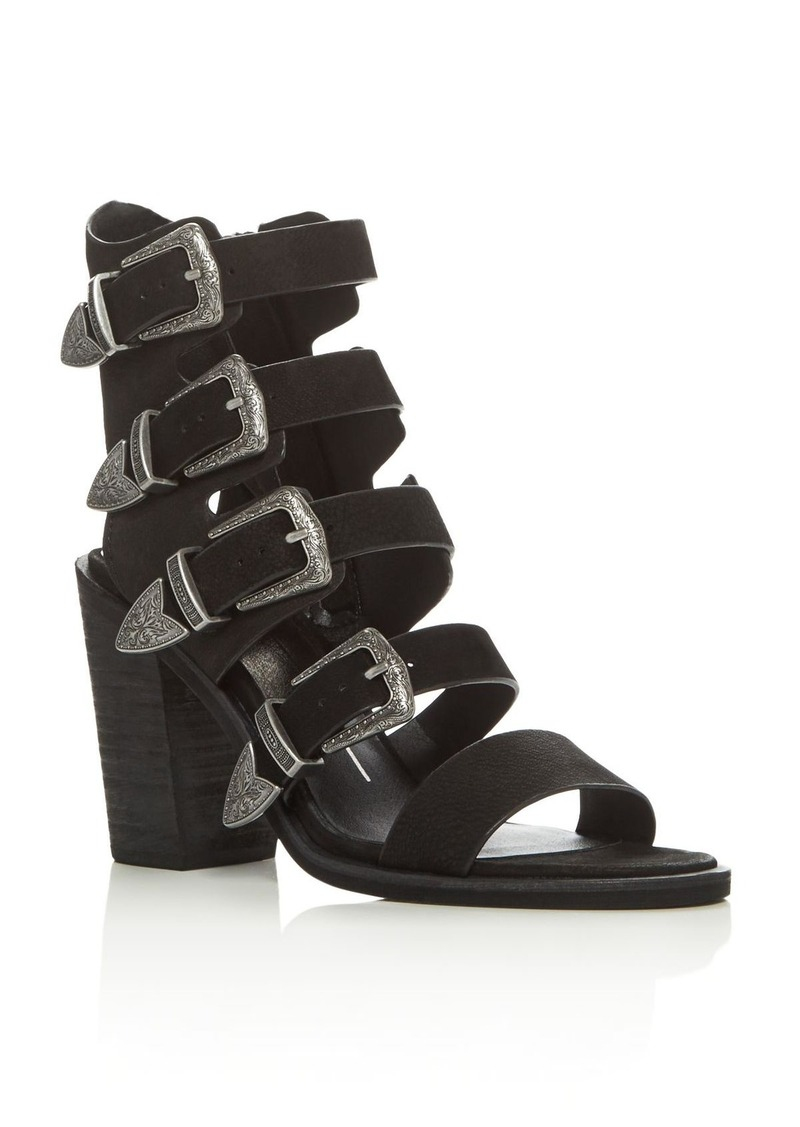 Dolce Vita Dolce Vita Layell Buckle City Strappy High Heel Sandals ...