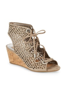 Dolce Vita Lenka Cutout-Design Leather Sandals