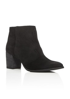 Dolce Vita Lennon Western Pointed Toe Booties