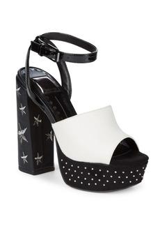 Dolce Vita Lisa Studded Platform Sandals