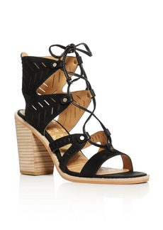 Dolce Vita Luci Lace Up High Heel Sandals