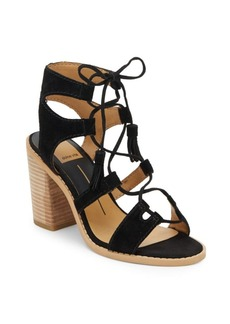 Dolce Vita Open-Toe Ghillie Lace-Up Sandals