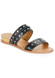 Dolce Vita Pacey Leather Slide Sandals