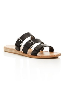 Dolce Vita Para Leather Slide Sandals