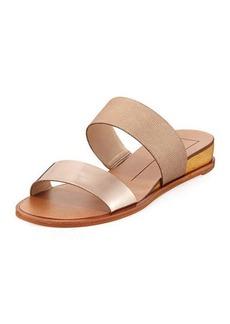 Dolce Vita Pasia Banded Slide Wedge Sandal