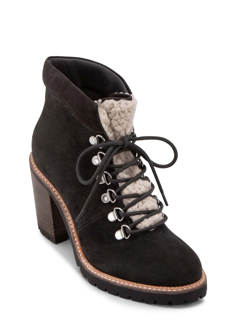 Dolce Vita Post Faux Shearling Trimmed Hiking Boot (Women)