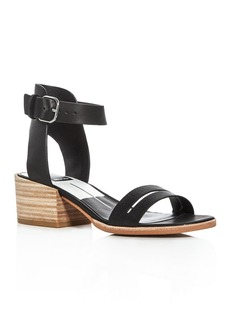 Dolce Vita Rae Ankle Strap Mid Heel Sandals