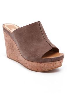 Dolce Vita Ross Suede Platform Wedge Sandals