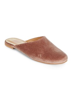 Dolce Vita Round Toe Leather Slippers