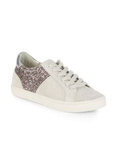 Dolce Vita StarlaGlitter Leather Sneakers
