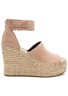 Dolce Vita Straw Wedge in Blush. - size 10 (also in 6,6.5,7.5,8,8.5,9,9.5)