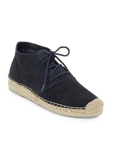 Dolce Vita Tibbie Perforated Suede Espadrille Sneakers