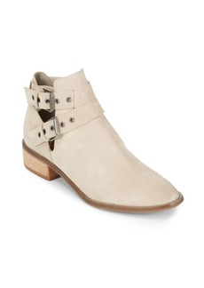 Dolce Vita Tove Double Buckle Leather Ankle Boots