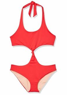 Dolce Vita Women's Convertible Reversible Monokini Swimsuit